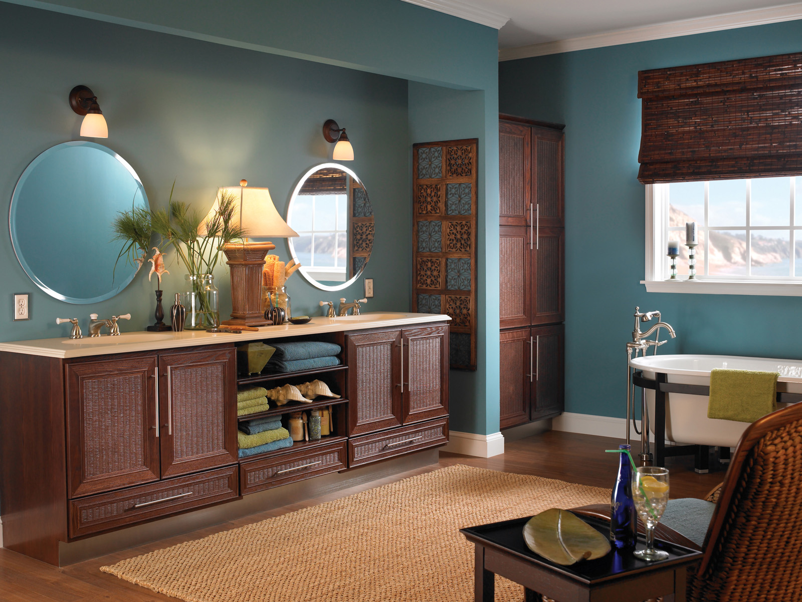 Charleston 60 Gray Double Sink Vanity By Mission Hills Inside Inch Plan 15